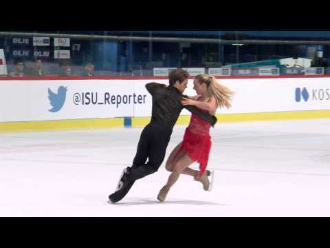 2015 ISU Junior Grand Prix - Zagreb Free Dance Rachel PARSONS / Michael PARSONS USA