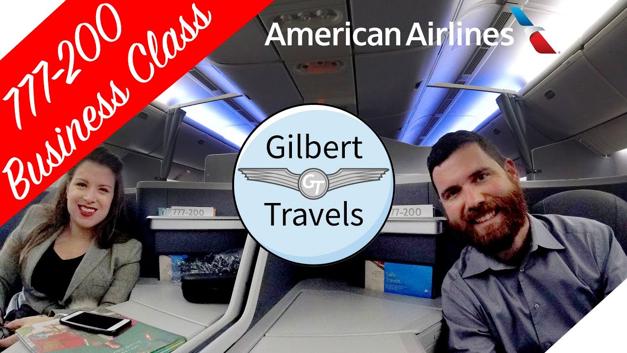 American Airlines 777-200 Business Class (Domestic First) Miami to Dallas Flight Review