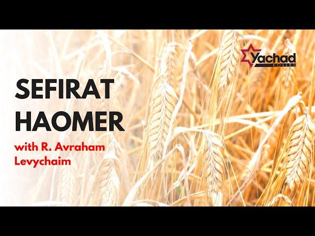 Sefirat Haomer: From Barley to Grain - R. Avraham Levychaim