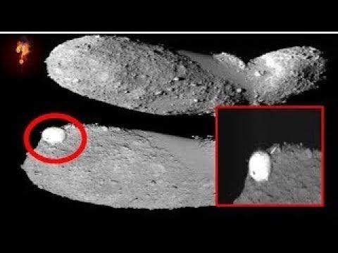 Alien Satellite Captured By Orbiting Asteroid?
