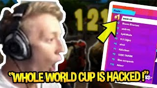 TFUE REVEALS HOW EPIC GAMES *HACKED* THE WORLD CUP *EPIC F**KED UP* | Fortnite Funny Moments