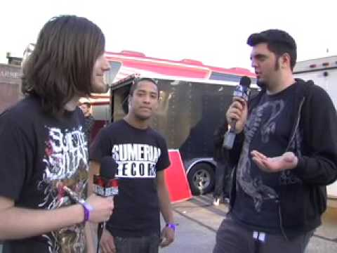 Veil of Maya Interview on Metal Injection @ New England Metal and Hardcore Fest 2009