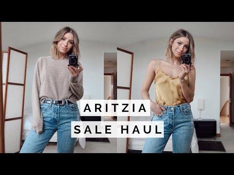 ARITZIA SALE HAUL TRY ON | WINTER TRENDS