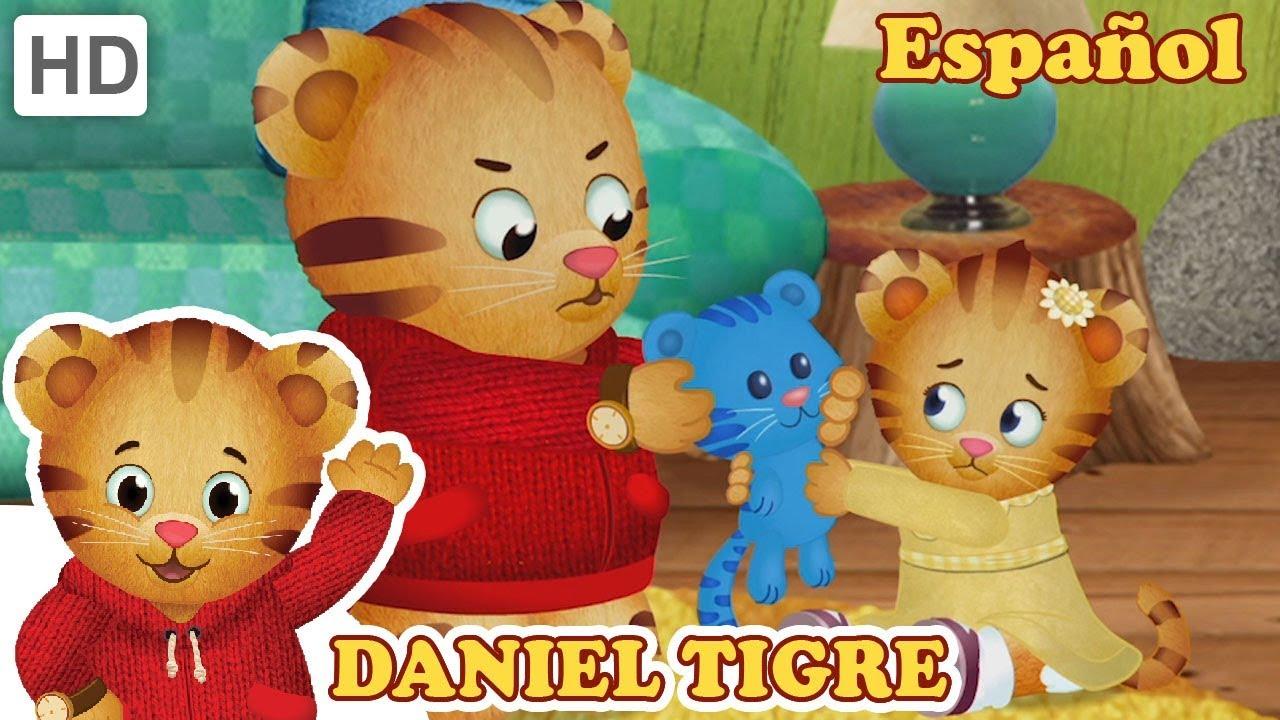 Daniel Tigre en Español - Sentimientos de Enojo Durante el ...