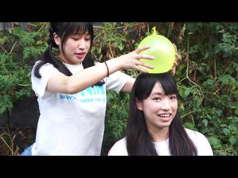 夏限定 涼める風船動画 アイドルが大きな水風船を割るVol.3 Water balloonbust Balloon Pop
