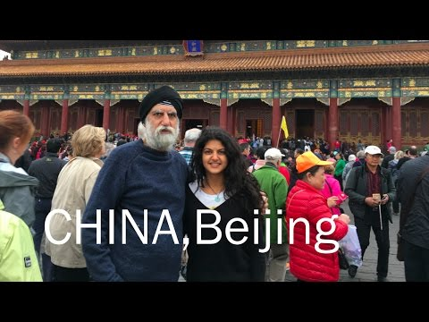 MY TRIP TO CHINA, Beijing Day 1-Sahiba Chadha :)