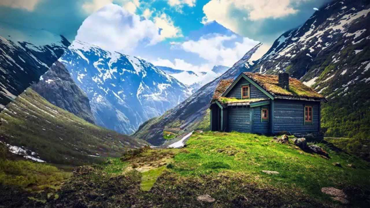 Mountain Home Landscape Hd1080P - Youtube-4136