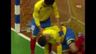 Así fueron los goles de la Selección Colombia de Fútbol de Salón en su debut en el mundial