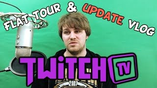 TheLazyPeon New Flat Tour + Twitch Announcement & Update