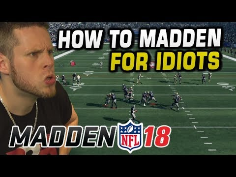 HOW TO WIN at MADDEN 18! HE'S NEVER LOST A GAME YET!