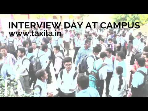 INTERVIEW DAY AT TAXILA