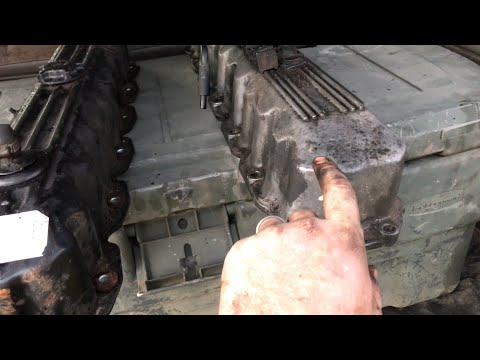 Jeep Cherokee Valve Pan Cover Swap - YouTube