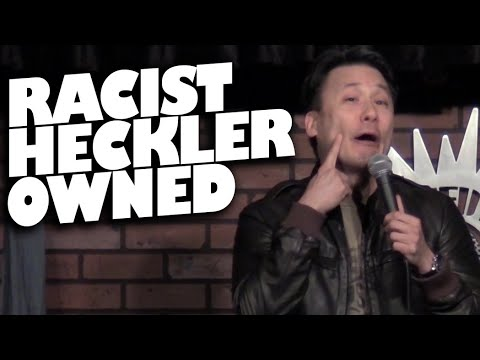 Racist Heckler Owned (17+ Only)