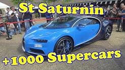 + de 1000 Supercars ! Bugatti - Ferrari - Lamborghini - McLaren à St Saturnin