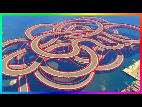 THE 99.99% IMPOSSIBLE RACE CHALLENGE - GTA ONLINE NEW ULTRA HARD CUSTOM STUNT RACES! (GTA 5)