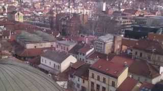 Sarajevo, Bosnia  - view from the minaret
