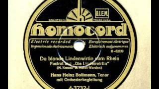 Hans Heinz Bollmann: Du blonde Lindenwirtin vom Rhein