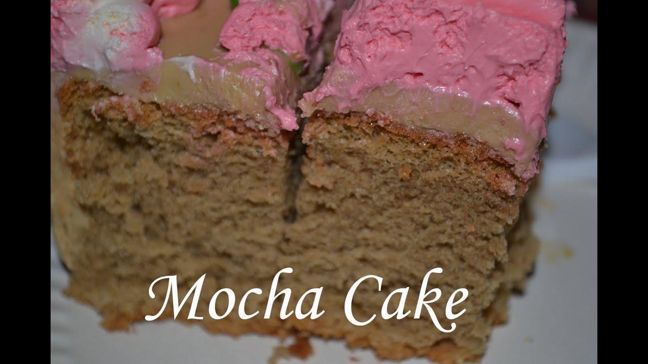 Mocha Cake Filipino Frosting