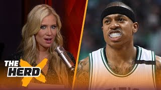 Report: Isaiah Thomas may be out until the All-Star break - Kristine and Colin react | THE HERD