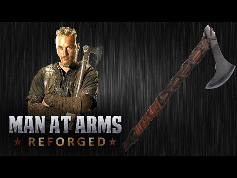 Ragnar's Axe - Vikings - MAN AT ARMS: REFORGED