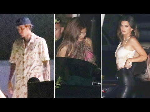 Inside Kendall Jenner's Birthday Party With Justin Bieber, Kylie ...