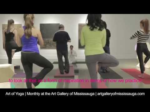 Art of Yoga | Monthly at the Art Gallery of Mississauga
