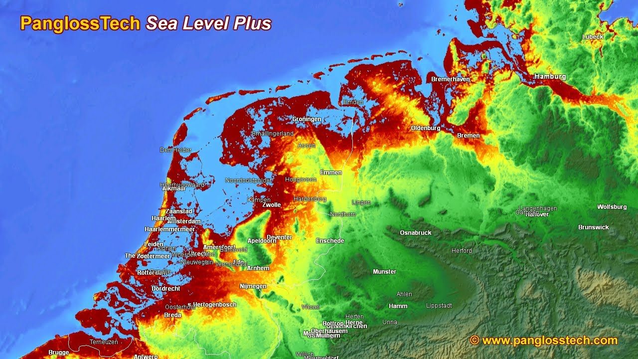 risk from sea level rise northern europe youtube