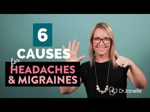 6 Reasons For Headache And Migraines (PLUS Natural Headache Remedies)