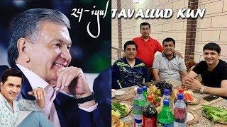 Anvar Sobirov Va Shavkat Mirziyoev Tavallud Kuningiz Muborak