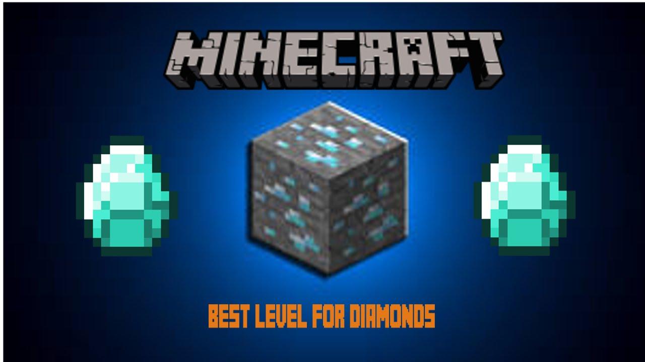 Minecraft Best Level For DIAMONDS! - YouTube