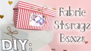 DIY: Decorative Storage Boxes from Shoe Boxes