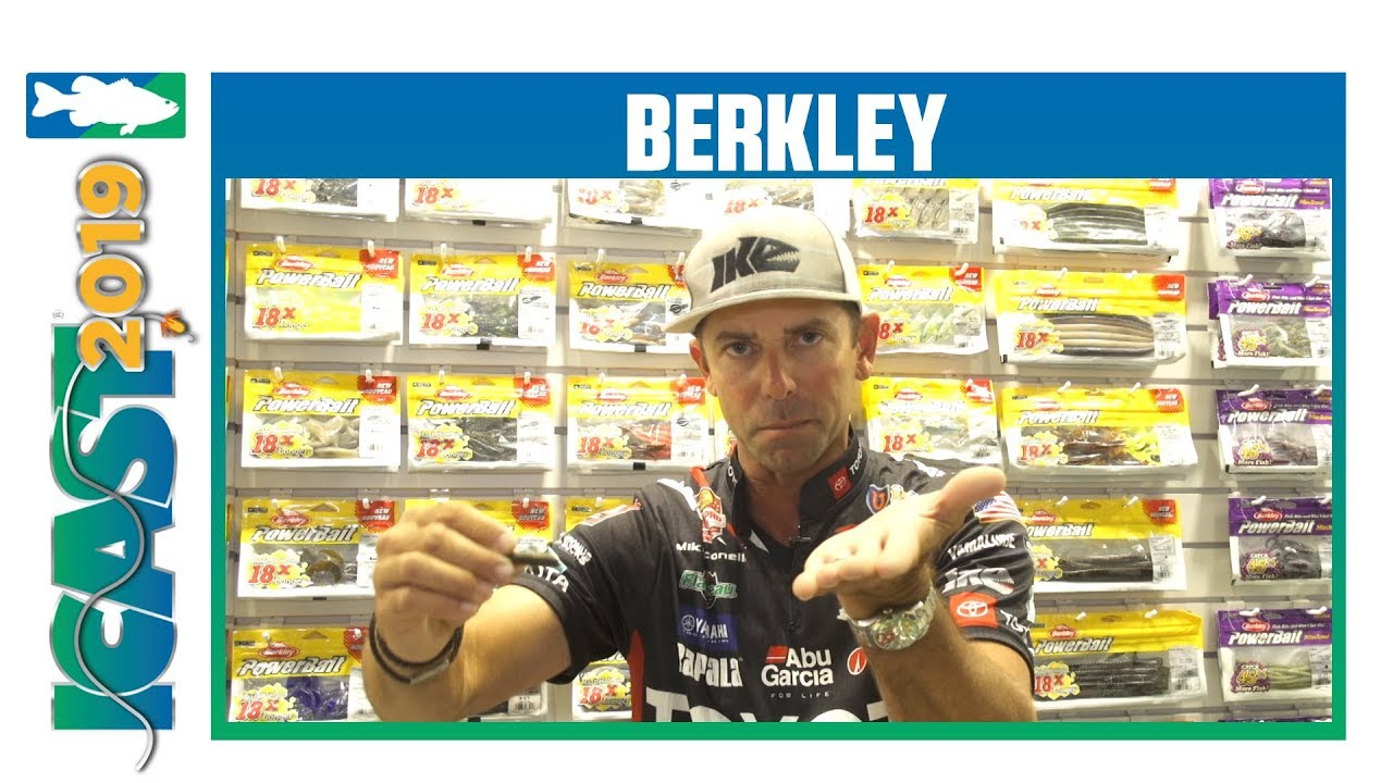 Berkley PowerBait Ikes Flute Worm & Water Bug with Mike Iaconelli | iCast  2019
