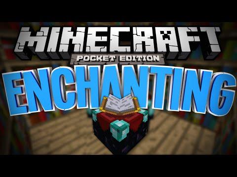 ENCHANTING IN MCPE! - Enchantment Mod - Minecraft Pocket Edition