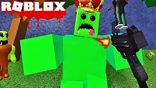 AN ARMY OF ZOMBIES ATTACKS! Roblox Zombie Attack