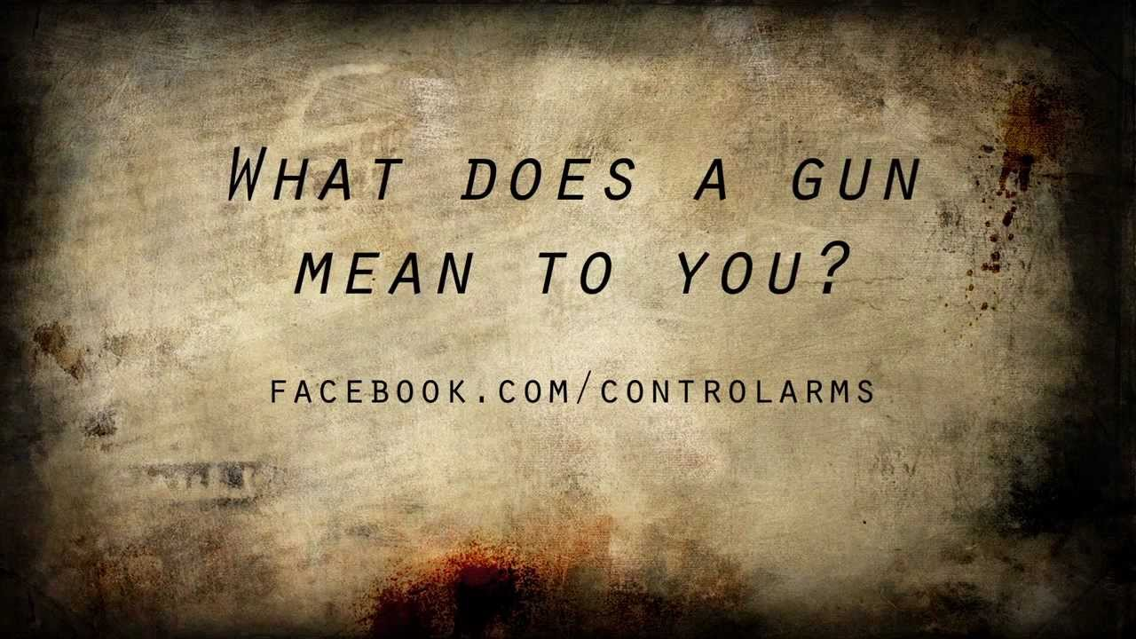 What Does a Gun Mean To You?
