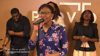 Elvire Manfoumbi -  Dis le nom de Jesus/ Mon Dieu tu es si grand/ Dieu tu es grand