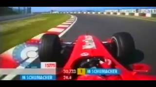 F1 Suzuka 2001 - Michael Schumacher Pole Lap Onboard