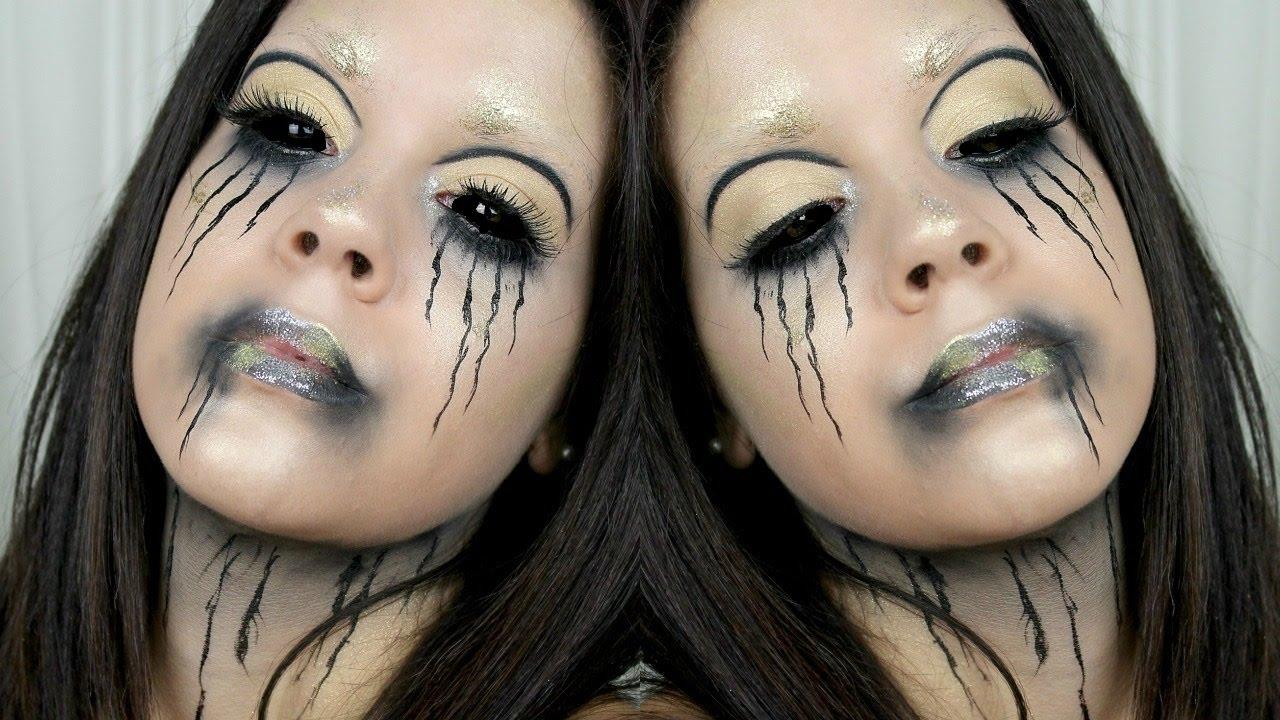 TRUCCO FACILE per HALLOWEEN - Easy Makeup Halloween - YouTube