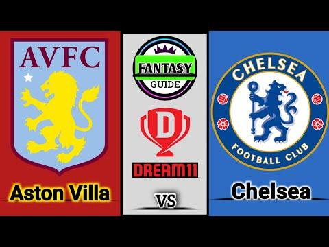 Download AVL vs CHE l Dream11 Team   Aston Villa vs Chelsea Dream11   avl vs che dream11 prediction  