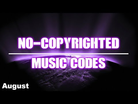 NO-COPYRIGHTED MUSIC CODES on Roblox