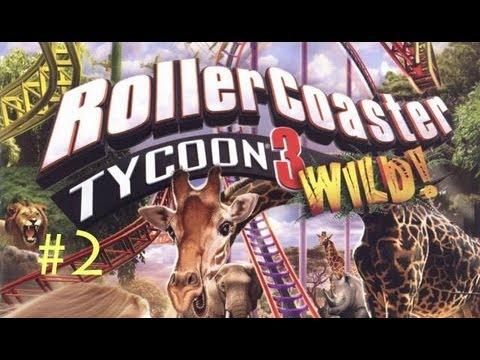 Roller Coaster Tycoon 3 Wild! Ep.2: OSTRICH FARM PLAINS