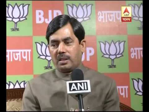 shahnawaz hussain's voice on the issue of meeting between tmc hamid