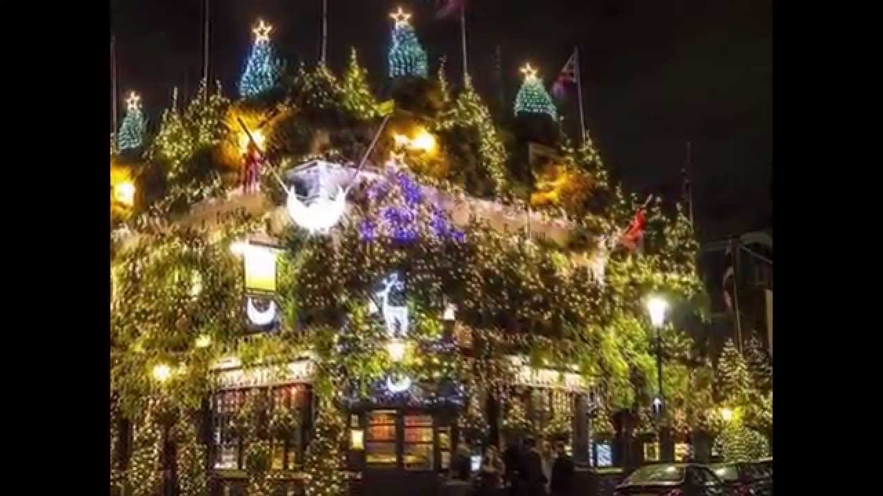 christmas trees decorations and lights around the world youtube