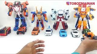 MAINAN TOBOT TOYS TRANSFORMERS CAR ROBOT