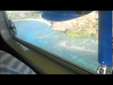 SVG Airlines flight from Grenada to Carriacou