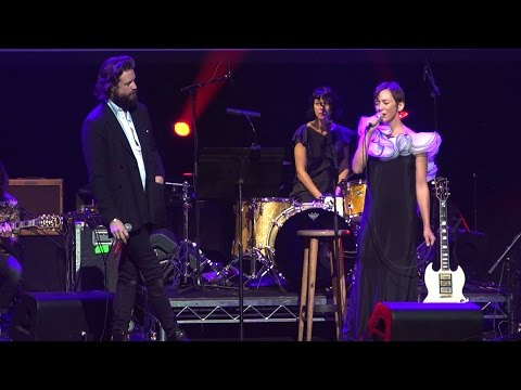 Inara George & Father John Misty perform 'This One's From The Heart'