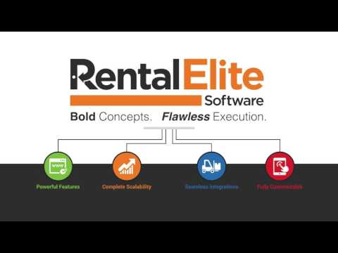 Point Of Rental Software - Rental Elite