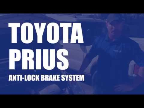 Toyota Prius Anti-Lock Brake System (ABS) Needs Replacement