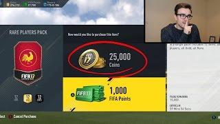 TWENTY 50K PACKS!!! HALF PRICE SPECIAL PACKS!!! Fifa 17 Pack Opening