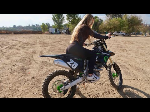 FIRST MOTOCROSS DAY!!